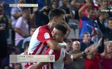 Todos los vídeos del Almería-UD Las Palmas: resumen, goles y las mejores jugadas