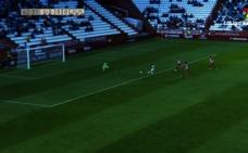 Los goles del encuentro entre el Albacete Balonpié y la UD Almería