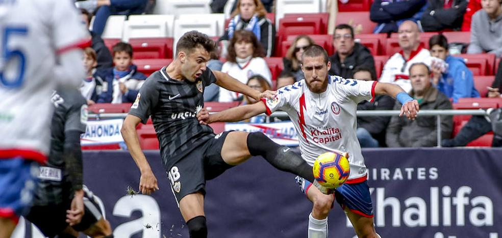 El Almería tira en 5 minutos sus opciones de triunfo