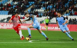 El Almería prefiere los retos fuertes