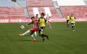El Almería B cae por ansiedad
