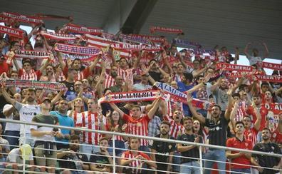 El Almería pone a la venta 430 entradas para el duelo de Elche