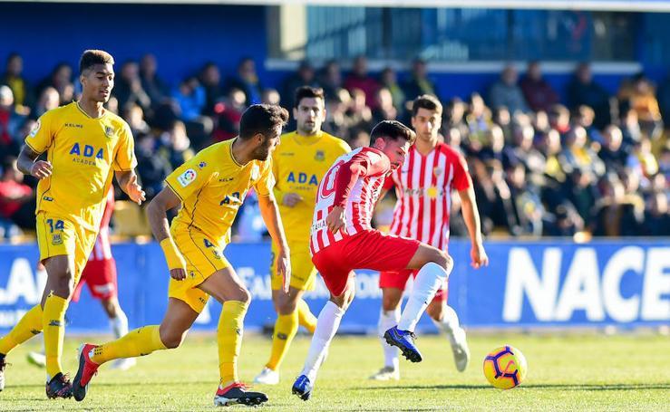 Las mejores imágenes del partido entre Alcorcón y UD Almería