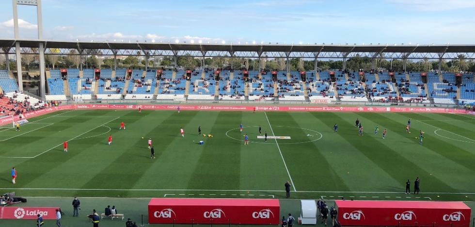 Empate a cero en el UD Almería-Cádiz