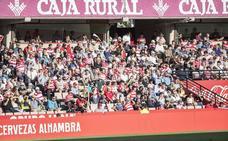 El Granada sólo tendrá el respaldo de mil aficionados en Almería