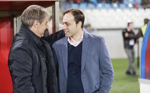 Natxo González: «El Almería es un equipo muy intenso, que nos va a presionar mucho»