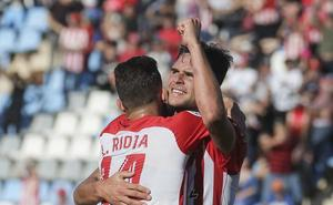 Álvaro Giménez, del Almería, entre los mejores de la jornada