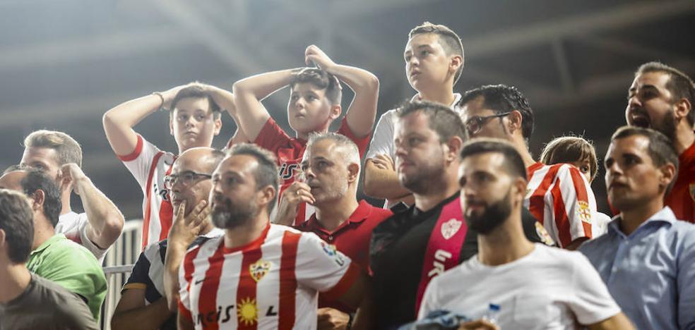 Los niños entre 4 y 12 años pueden ver al Almería por 5 euros