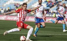 El Almería recupera a Corpas para el partido frente al Real Oviedo