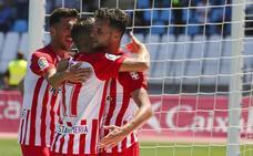 El Almería cree en la victoria y en el playoff