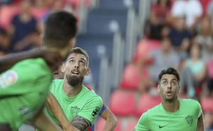 Saveljich, expulsado al término del partido del Almería en Mallorca
