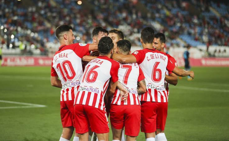 Las mejores imágenes del partido de la UD Almería contra el Albacete