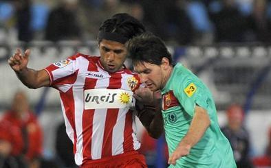 Fabián Vargas recuerda una historia con Messi en Almería