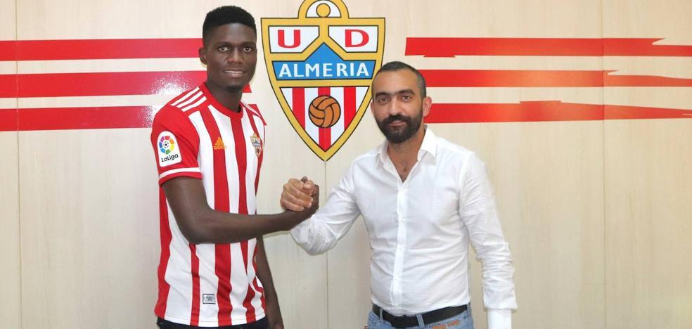 El nigeriano Ozornwafor, nuevo jugador de la UD Almería
