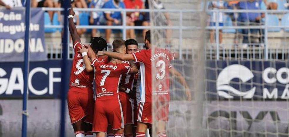 El Almería calca lo bueno y lo malo ante el Huesca para ganar en Málaga
