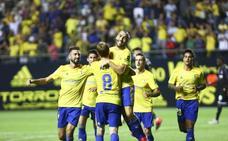 El Cádiz sigue buscando el ascenso