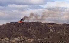 Tres detenidos por provocar el fuego que quemó más de 11 hectáreas en Lucainena