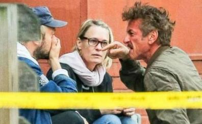 Brutal pelea de Sean Penn con el novio de su hija en plena calle