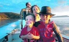 Una familia de nómadas