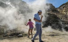 Vivir sobre un volcán