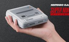Nintendo lanzará una versión 'mini' de legendaria Super NES en septiembre