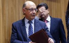 PSOE, Unidos Podemos y C's reprueban a Montoro por «premiar el fraude»