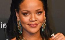 Rihanna sale con un rico saudí