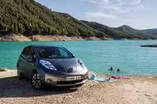 Nissan Leaf, con el sistema ProPilot Park
