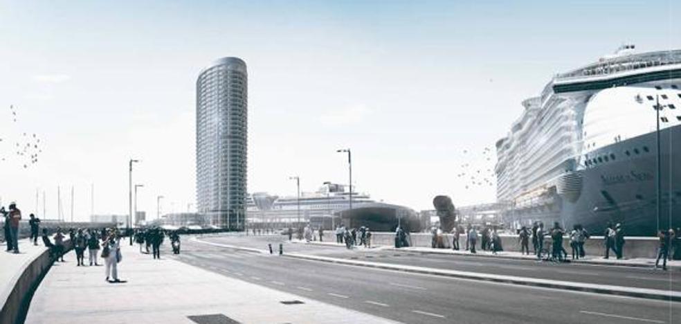 El Ministerio de Fomento dará hoy en Málaga su visto bueno al hotel del Puerto