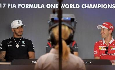 Vettel y Hamilton entierran el hacha… de momento