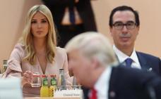 Trump defiende que su hija lo sustituyera en la mesa de líderes del G-20
