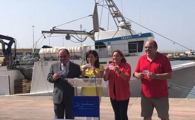 La ONCE se acuerda de los pescadores y de la Virgen del Carmen