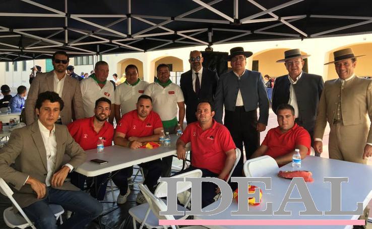 Domino ya se rueda en la Plaza de Toros de Almería