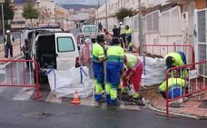 Aqualia anuncia cortes de agua en Almería por obras