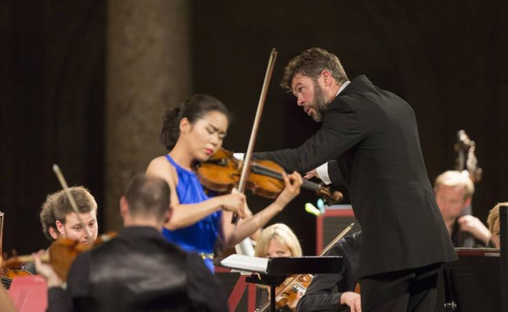 La música rusa le va bien a Heras-Casado