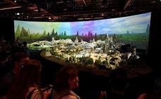 Disney muestra la maqueta del parque temático de 'Star Wars'