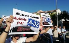 La plataforma por la A-32 sigue movilizándose tras ser multada