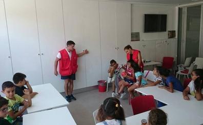 Aguasvira y Cruz Roja impulsan actividades para menores con dificultades sociales