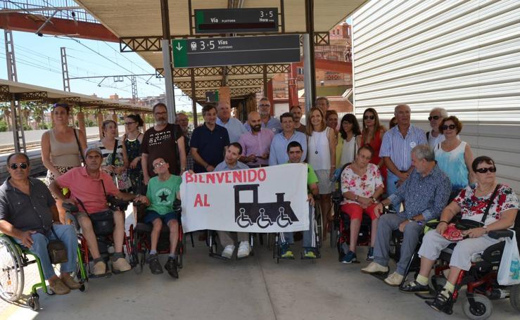 El Talgo accesible llega a Almería