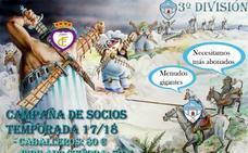 El Villacarrillo CF busca abonados para medirse a los 'gigantes' del Grupo IX