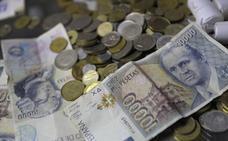 Los españoles conservan 1.638 millones de euros en pesetas