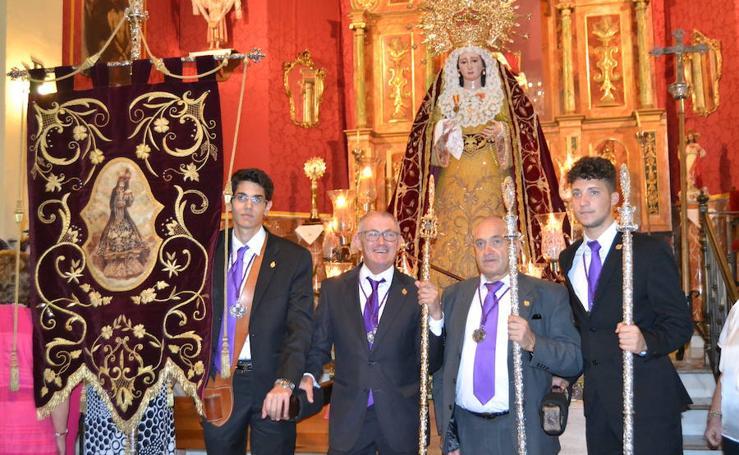 Arenas del Rey nombra a su Patrona, la Virgen de los Dolores, 'Alcaldesa perpetua honoraria'
