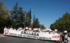 Sindicatos llevan a la Fiscalía el accidente laboral en el que ha muerto un trabajador en Huétor Santillán