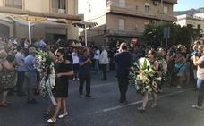 Cientos de personas acompañan a la familia de Francisco Pedrosa en su despedida