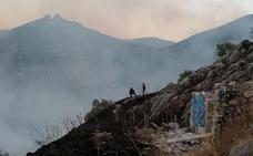 El Ayuntamiento investiga las causas del incendio en la Fuente de la Peña