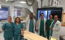 El Complejo Hospitalario incorpora una nueva técnica para mejorar el tratamiento del cáncer hepático y renal