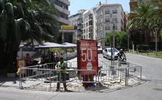 Comienzan las obras para peatonalizar el centro