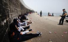 La presión migratoria crece, con más de 600 rescatados ayer en las costas andaluzas