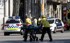 Los vídeos del atropello masivo en Barcelona