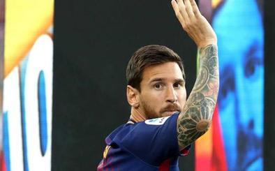 El Barça se agarra a Messi